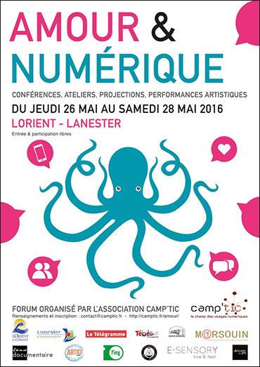 forum-amour-et-numerique-affiche-bretagne-graphiste-lorient-edition-1